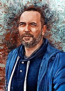 Портрет мужчины в стиле Дрим-Арт