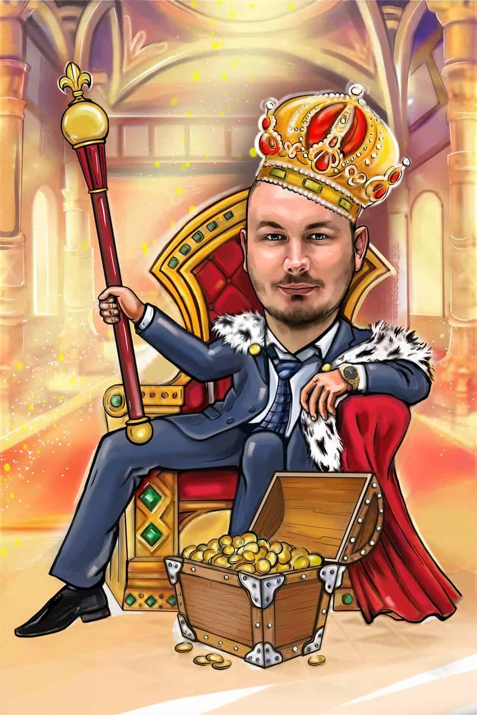 мужик на троне картинка положено
